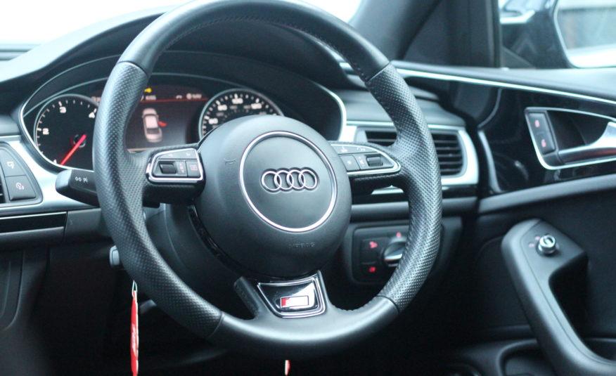 2014 (64) Audi A6 Saloon 2.0 TDI ultra Black Edition S Tronic (s/s) 4dr