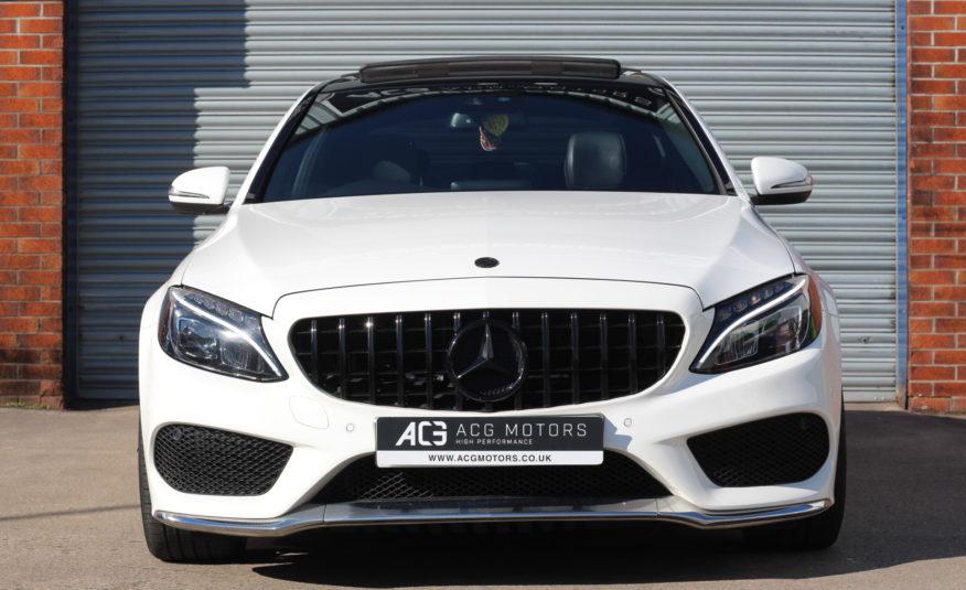 2015 (65) Mercedes-Benz C Class 2.1 C250d AMG Line (Premium Plus) 7G-Tronic+ (s/s) 4dr