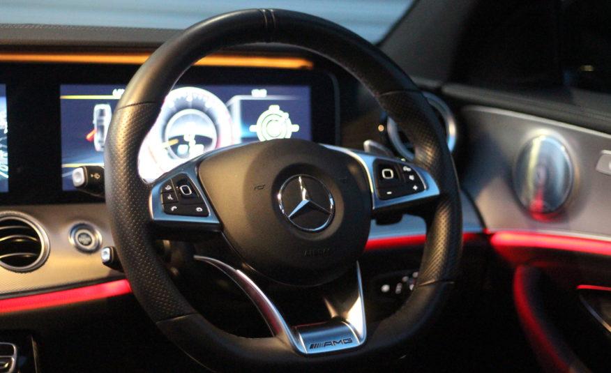 2018 (18) Mercedes-Benz E Class 4.0 E63 BiTurbo V8 AMG (Premium) SpdS MCT 4MATIC+ (s/s) 4dr