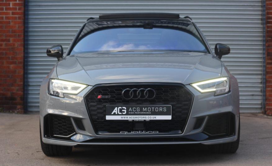2019 (19) Audi RS3 2.5 TFSI Audi Sport Edition Sportback S Tronic quattro (s/s) 5dr
