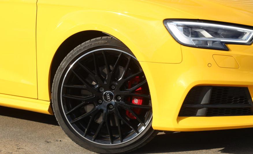 2019 (19) Audi S3 2.0 TFSI Black Edition Sportback S Tronic quattro (s/s) 5dr