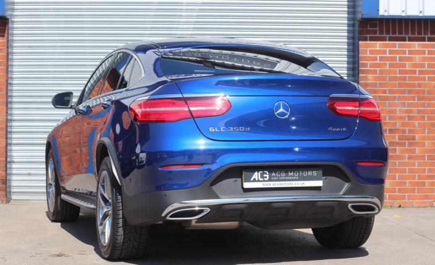 2017 (17) Mercedes-Benz GLC Class 3.0 GLC350d V6 AMG Line (Premium Plus) G-Tronic 4MATIC (s/s) 5dr