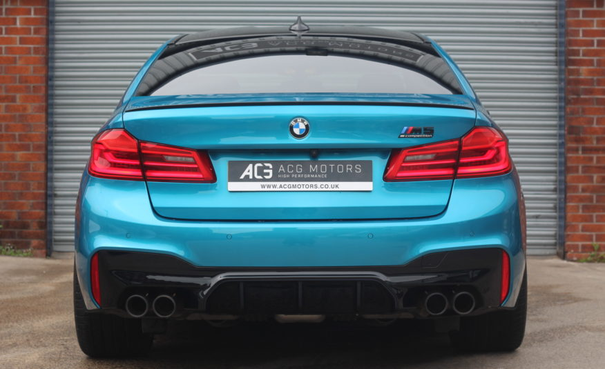 2018 (68) BMW M5 4.4i V8 Competition Steptronic xDrive (s/s) 4dr