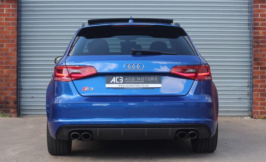 2016 (16) Audi S3 2.0 TFSI Sportback quattro 5dr (Nav)