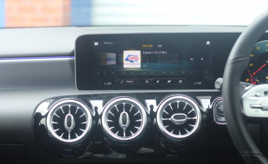 2019 (19) Mercedes-Benz A Class 2.0 A220 AMG Line (Premium) 7G-DCT (s/s) 5dr