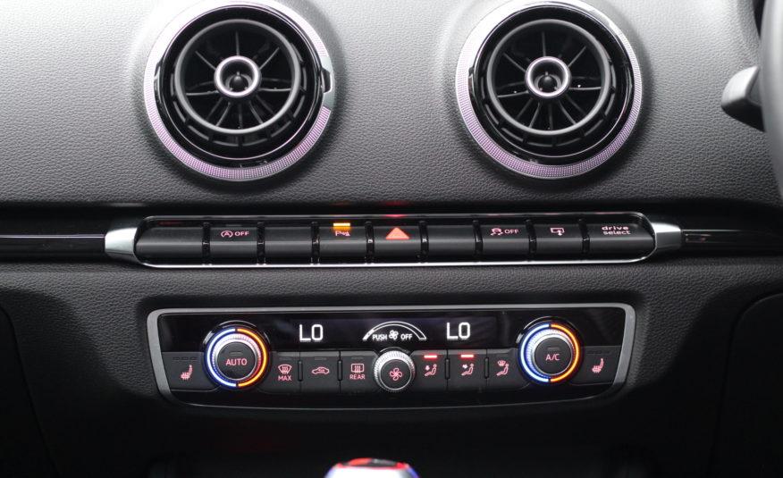 2016 (66) Audi RS3 2.5 TFSI Sportback S Tronic quattro 5dr (Nav)