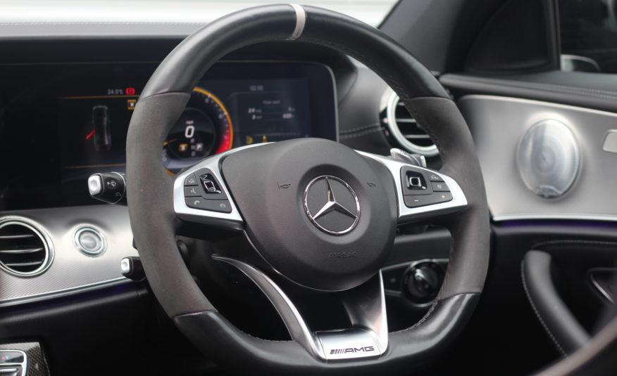 2017 (67) Mercedes-Benz E Class 4.0 E63 BiTurbo V8 AMG S (Premium) SpdS MCT 4MATIC+ (s/s) 4dr