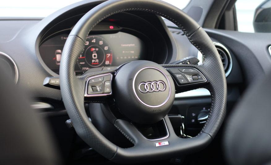 2020 (20) Audi S3 2.0 TFSI Black Edition Sportback S Tronic quattro (s/s) 5dr
