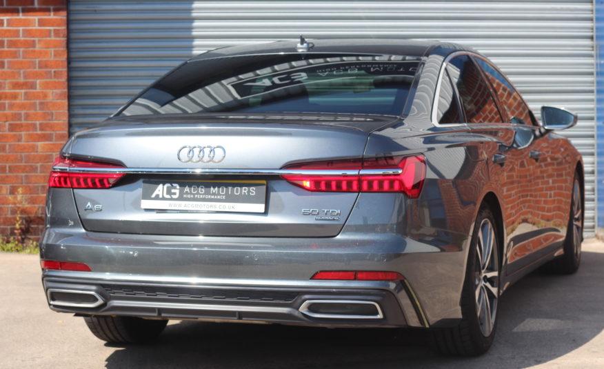 2018 (68) Audi A6 Saloon 3.0 TDI V6 50 S line Tiptronic quattro (s/s) 4dr