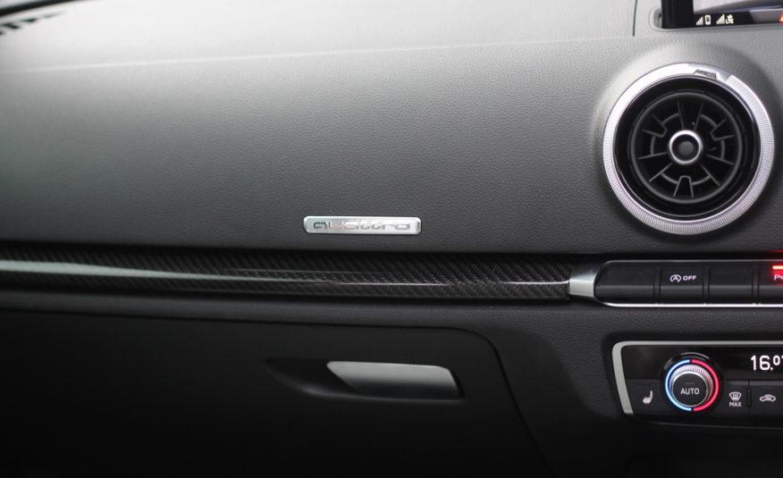 2018 (18) Audi RS3 2.5 TFSI S Tronic quattro (s/s) 4dr