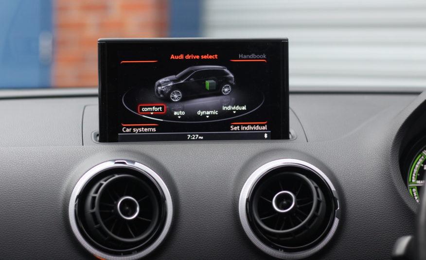2015 (15) Audi A3 1.4 TFSI e-tron 8.8kWh Sportback e-S Tronic 5dr