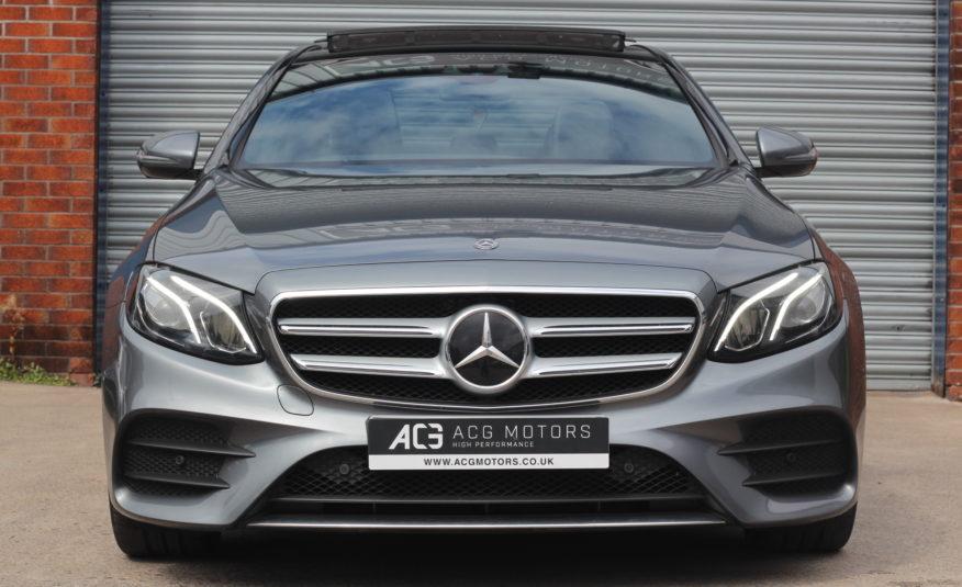 2018 (18) Mercedes-Benz E Class 3.0 E350d V6 AMG Line (Premium) G-Tronic+ (s/s) 4dr