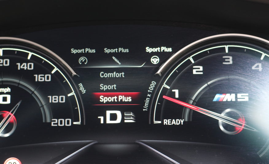 2019 (19) BMW M5 4.4i V8 Competition Steptronic xDrive (s/s) 4dr